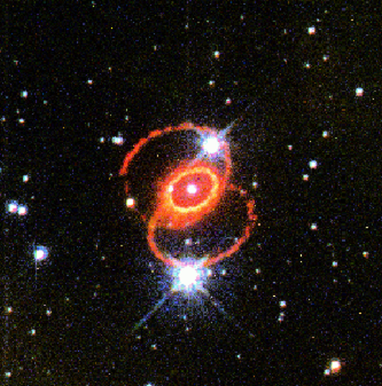 supernova 1987a from earth - photo #24