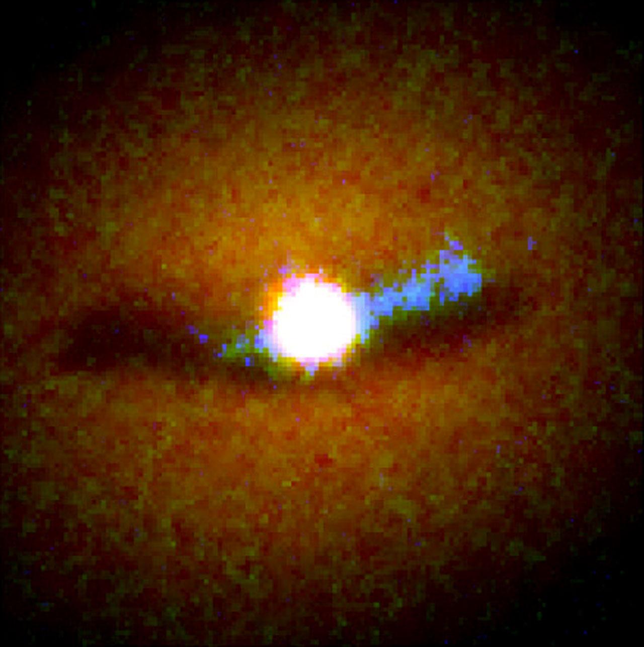 Galaxy NGC 6251 Nucleus