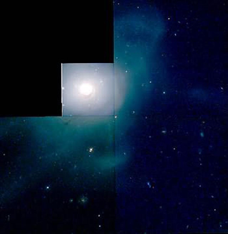 HST/WFPC2 image of galaxy NGC 7252