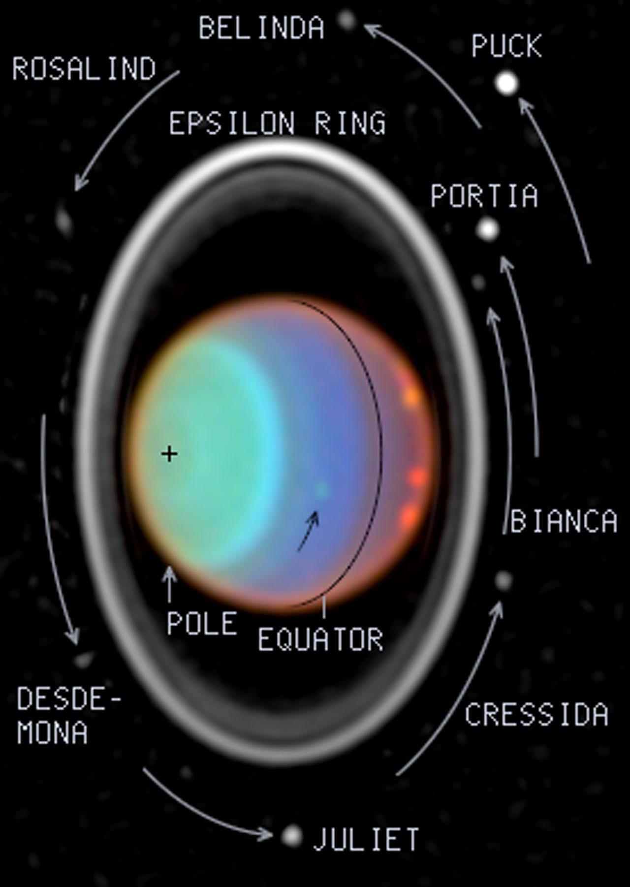 Hubble Tracks Clouds on Uranus