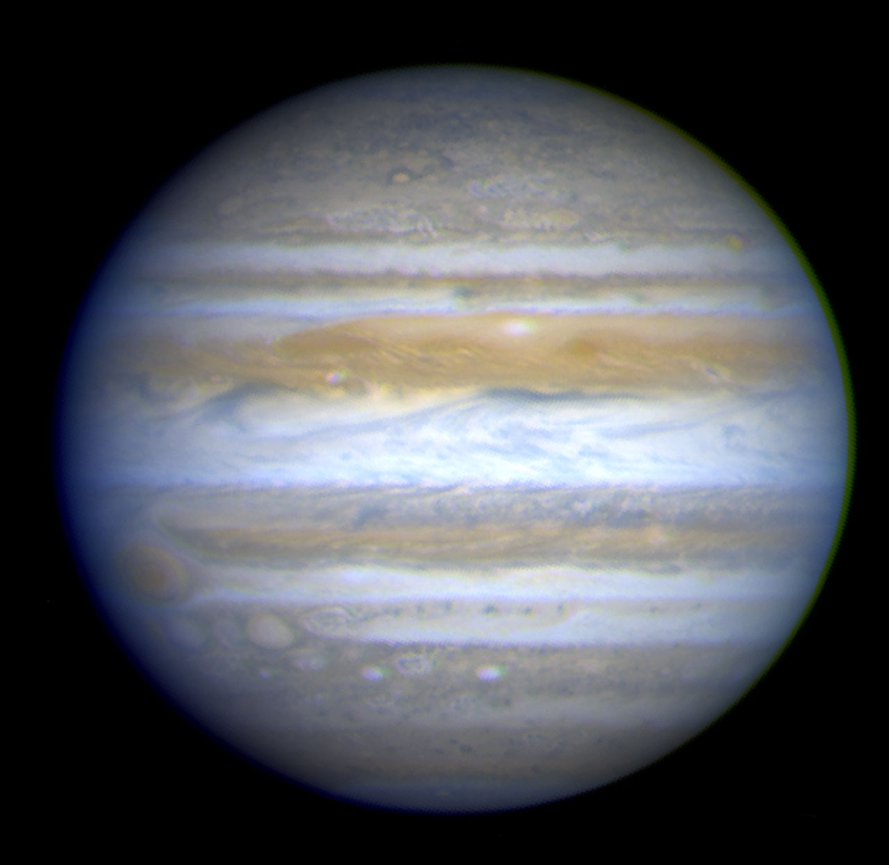 Hubble View of Jupiter