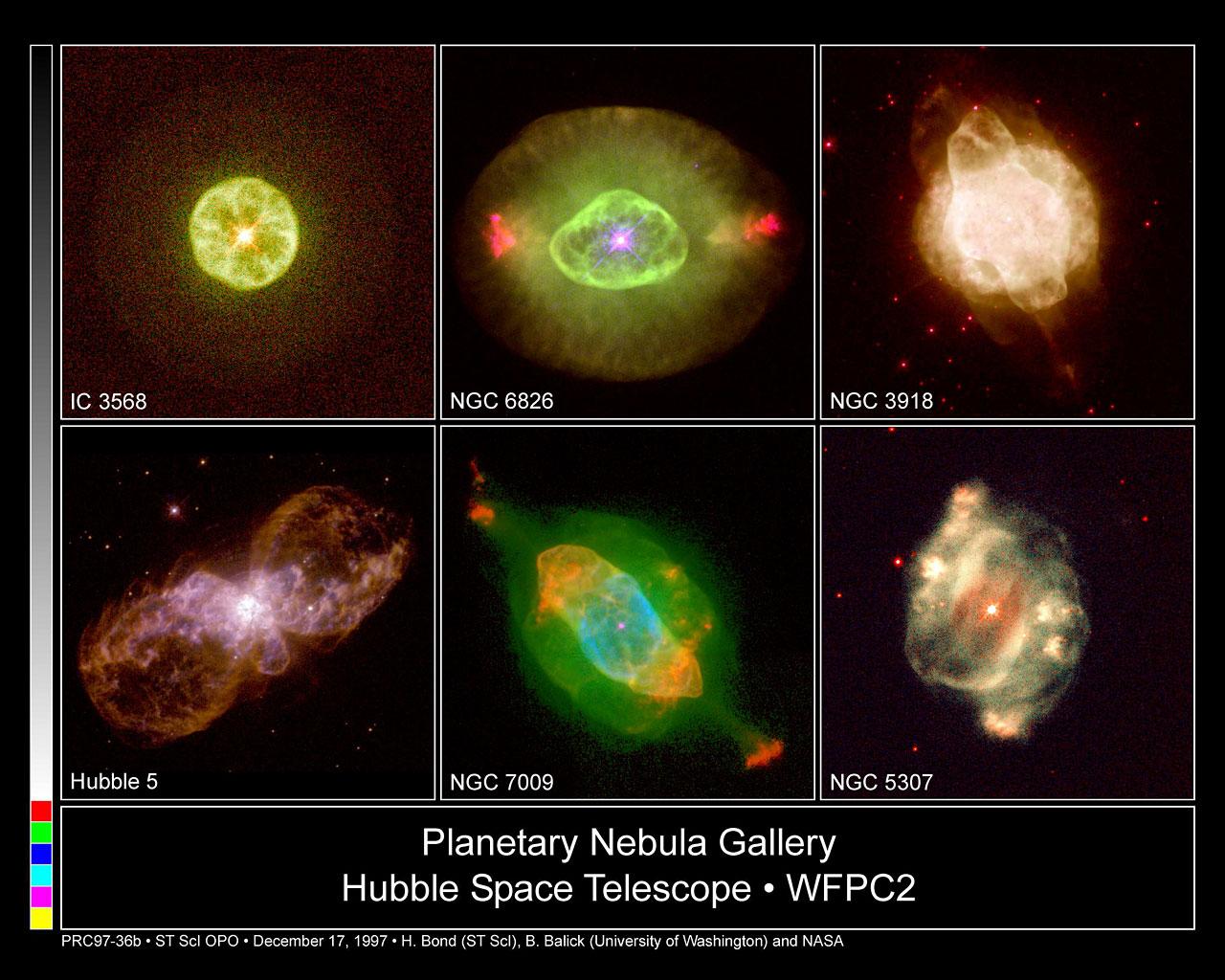 Hubble's Planetary Nebula Gallery