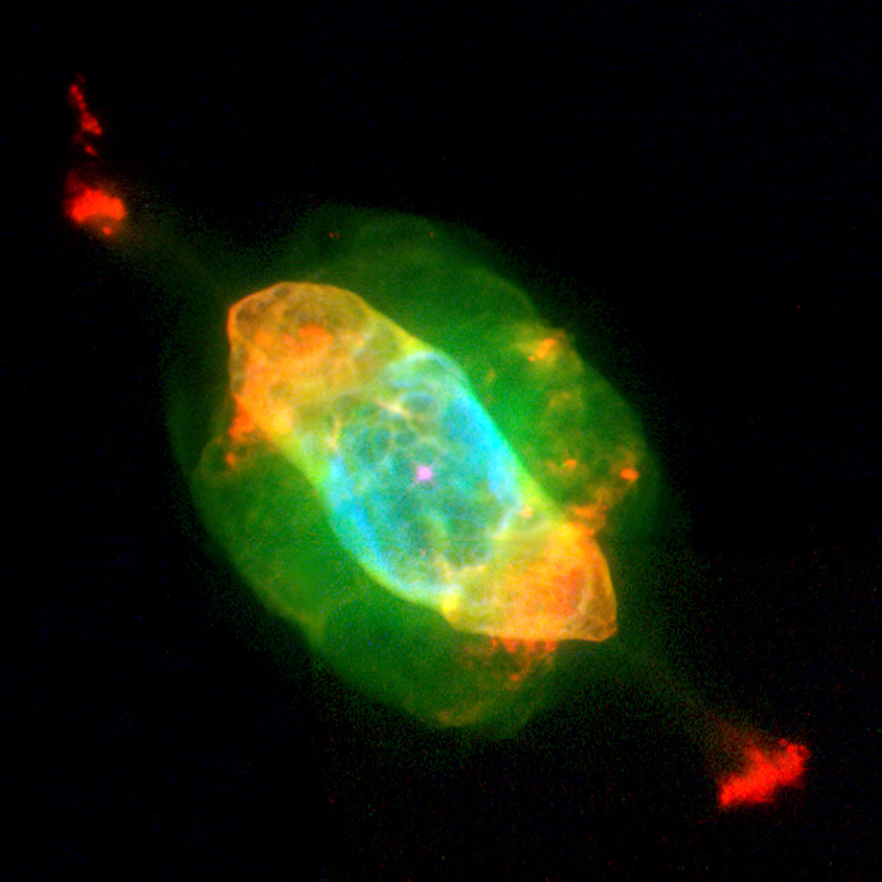 Hubble's Planetary Nebula Gallery. A View of NGC 7009