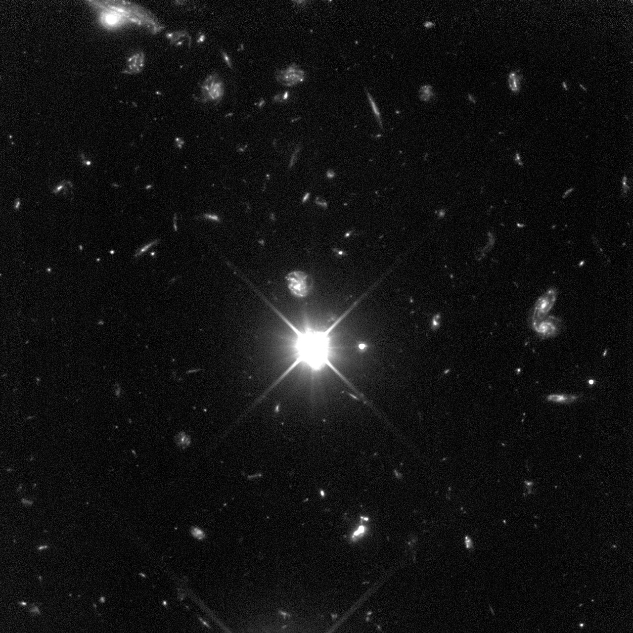 HDF Southern Field (Hubble STIS View)