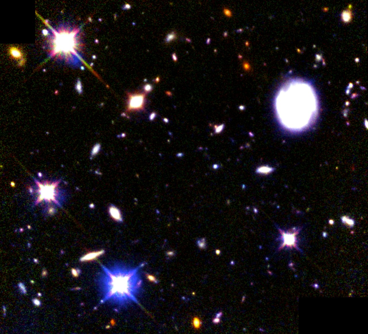 Combined Deep View of Infrared and Visible Light Galaxies