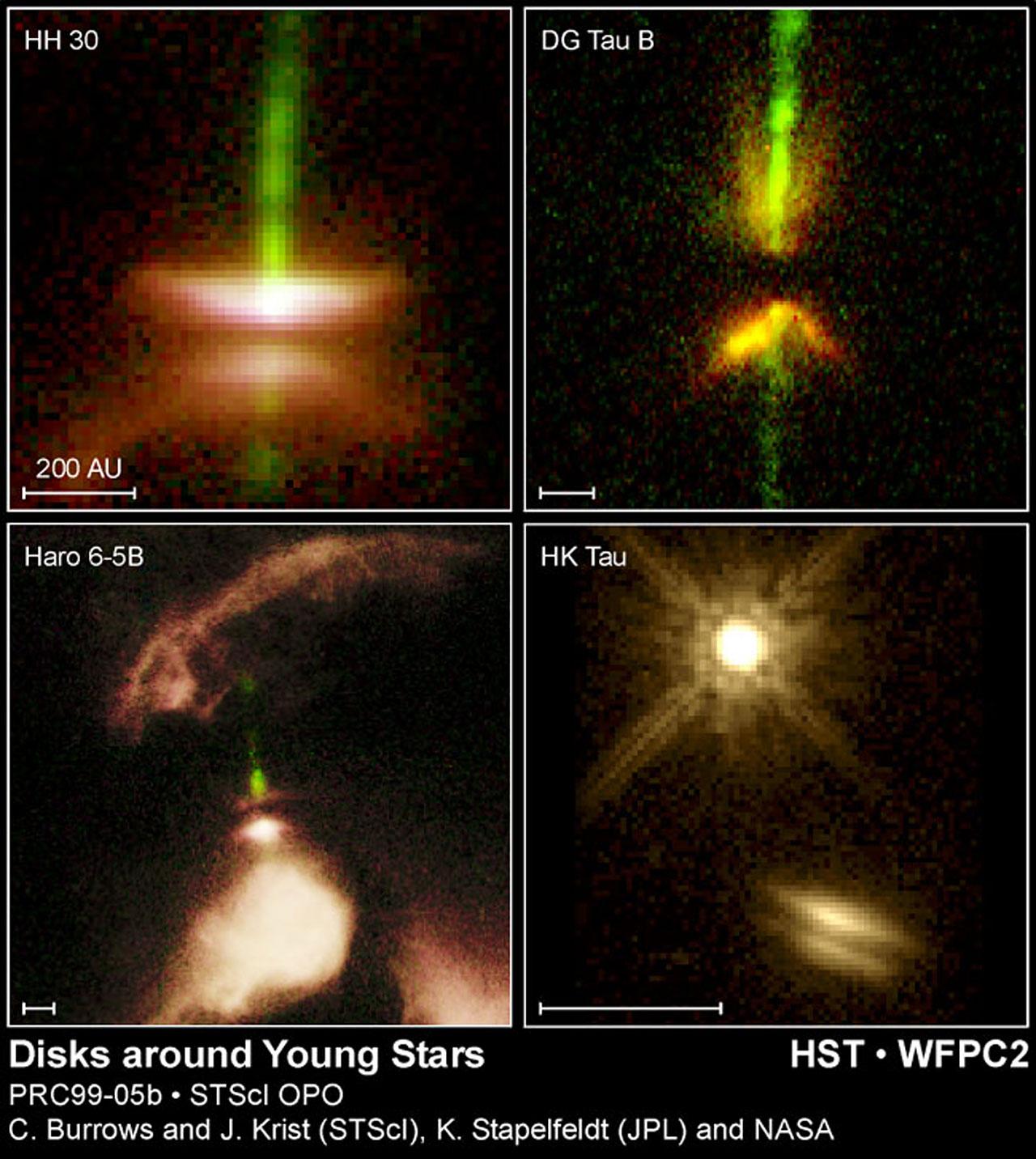 Disks Around Young Stars