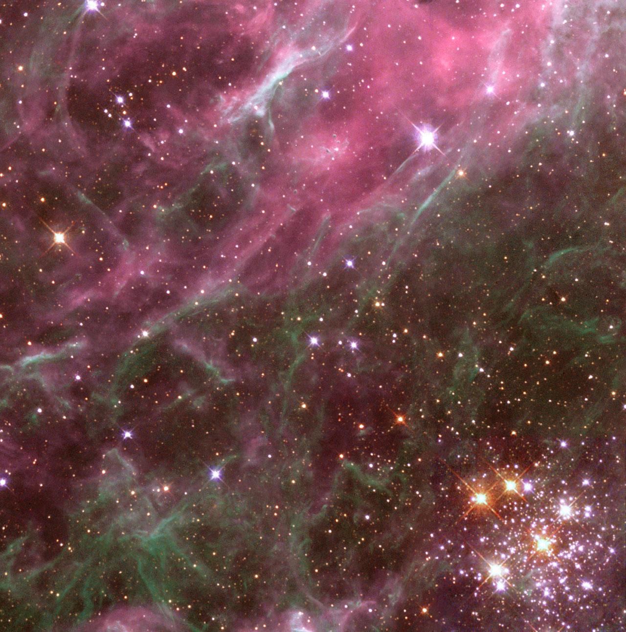 Multiple Generations of Stars in the Tarantula Nebula