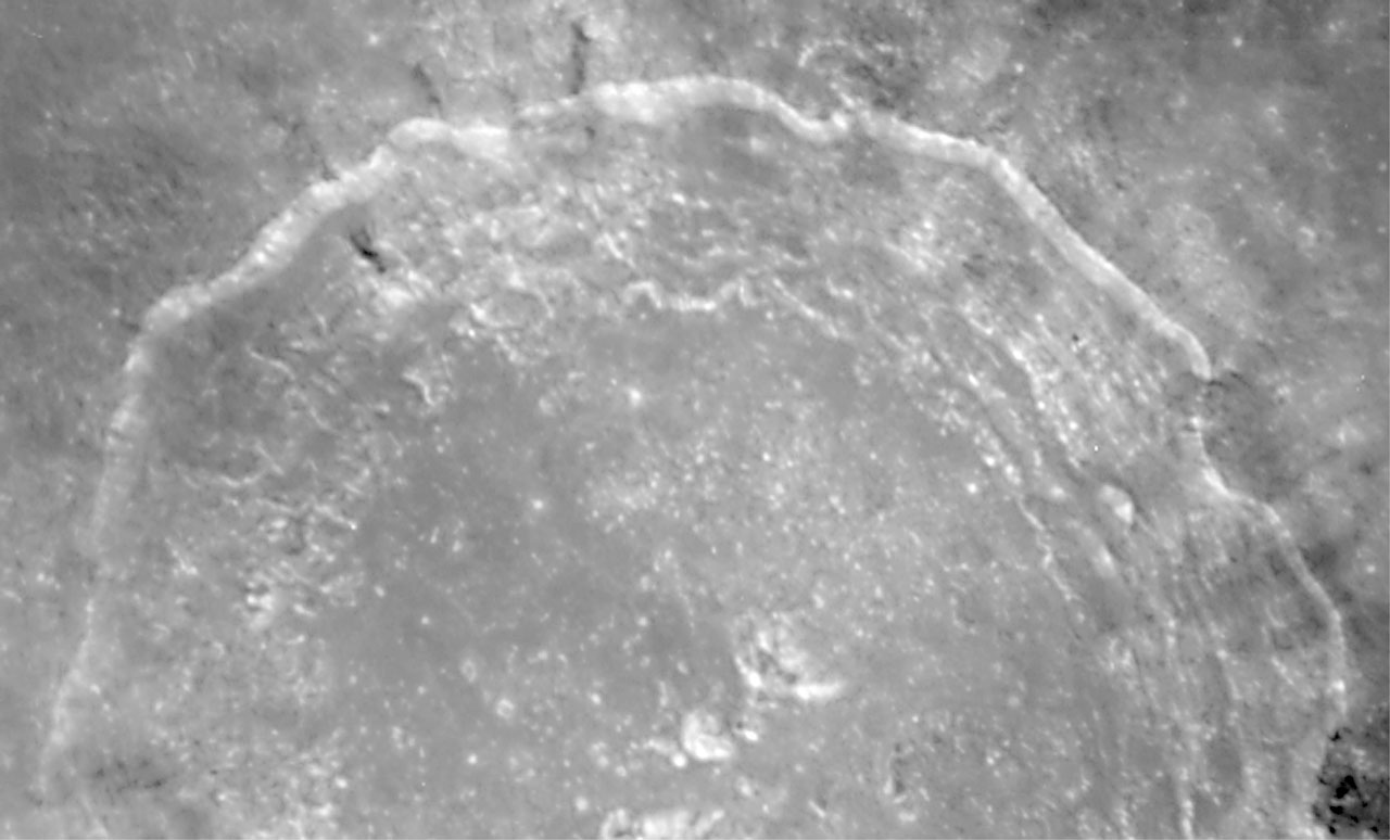 Crater Copernicus on the Moon