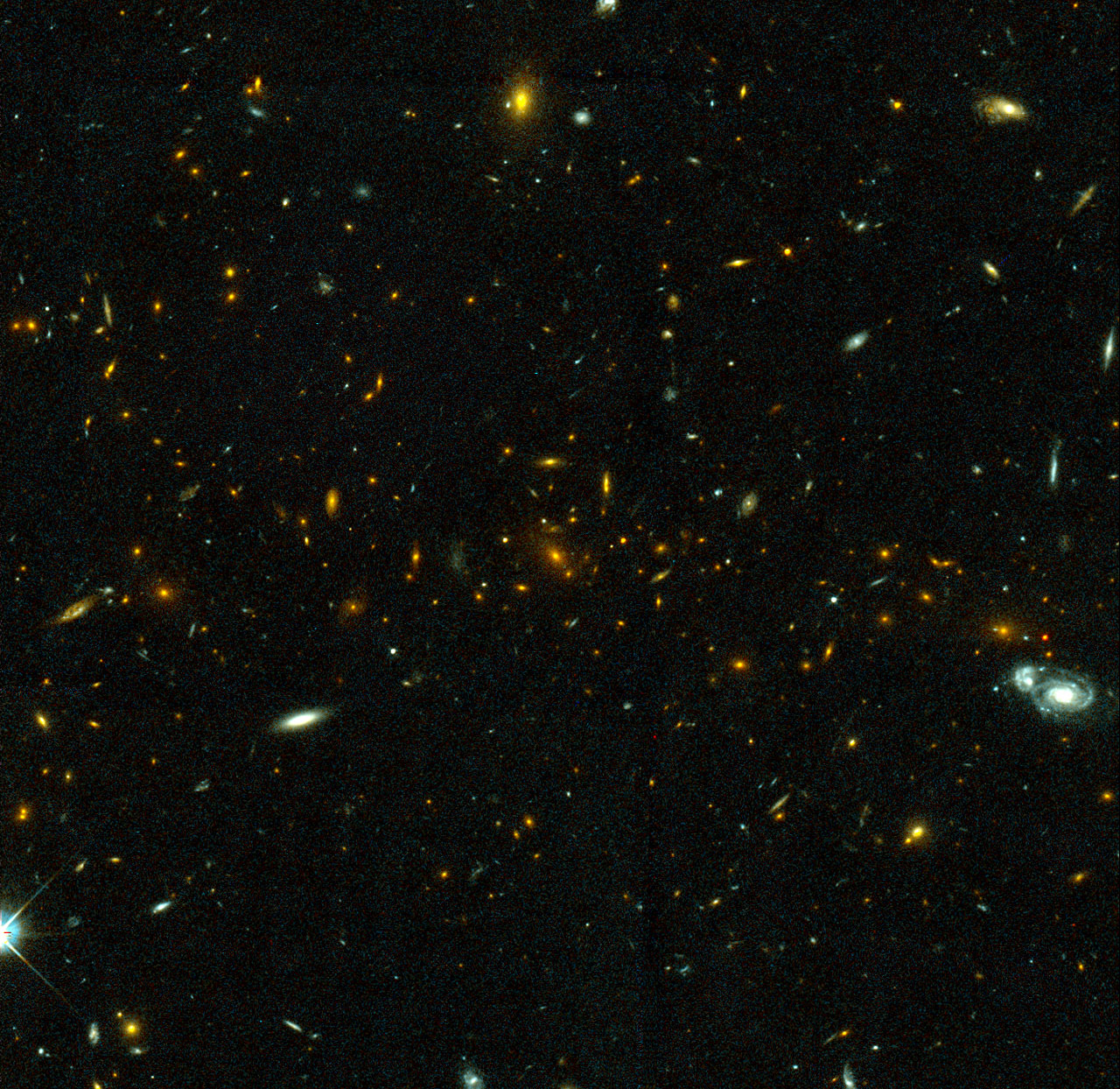 Galaxy Cluster MS1054-03