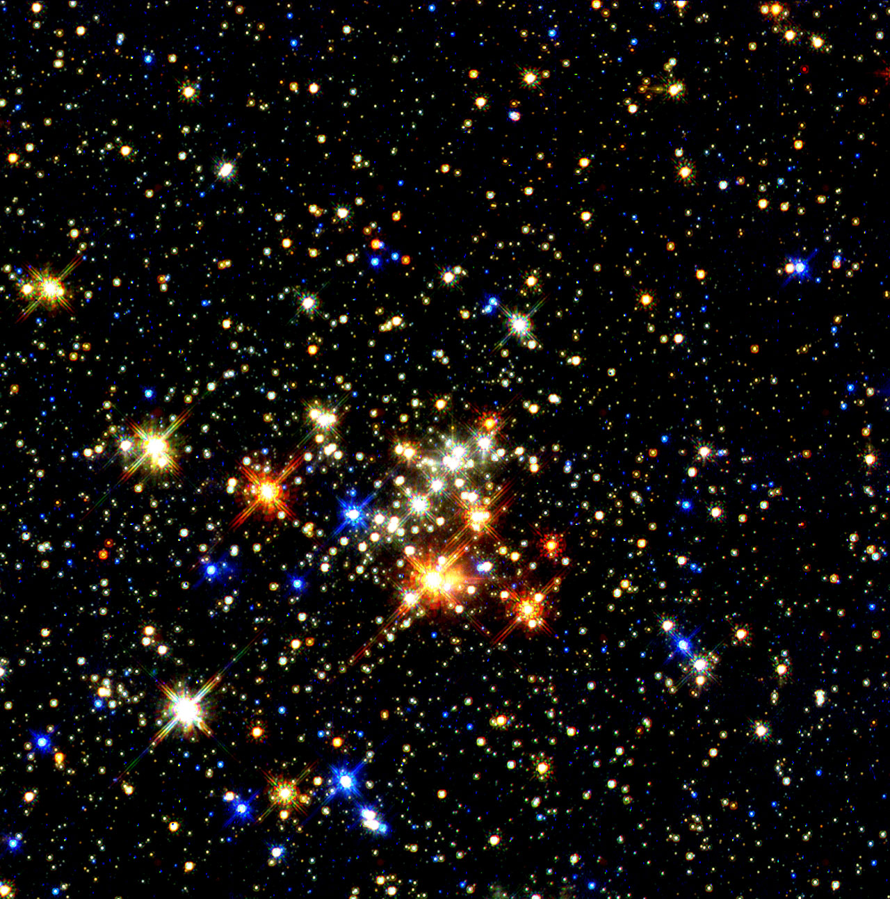 Star Clusters Near the Center of the Galaxy