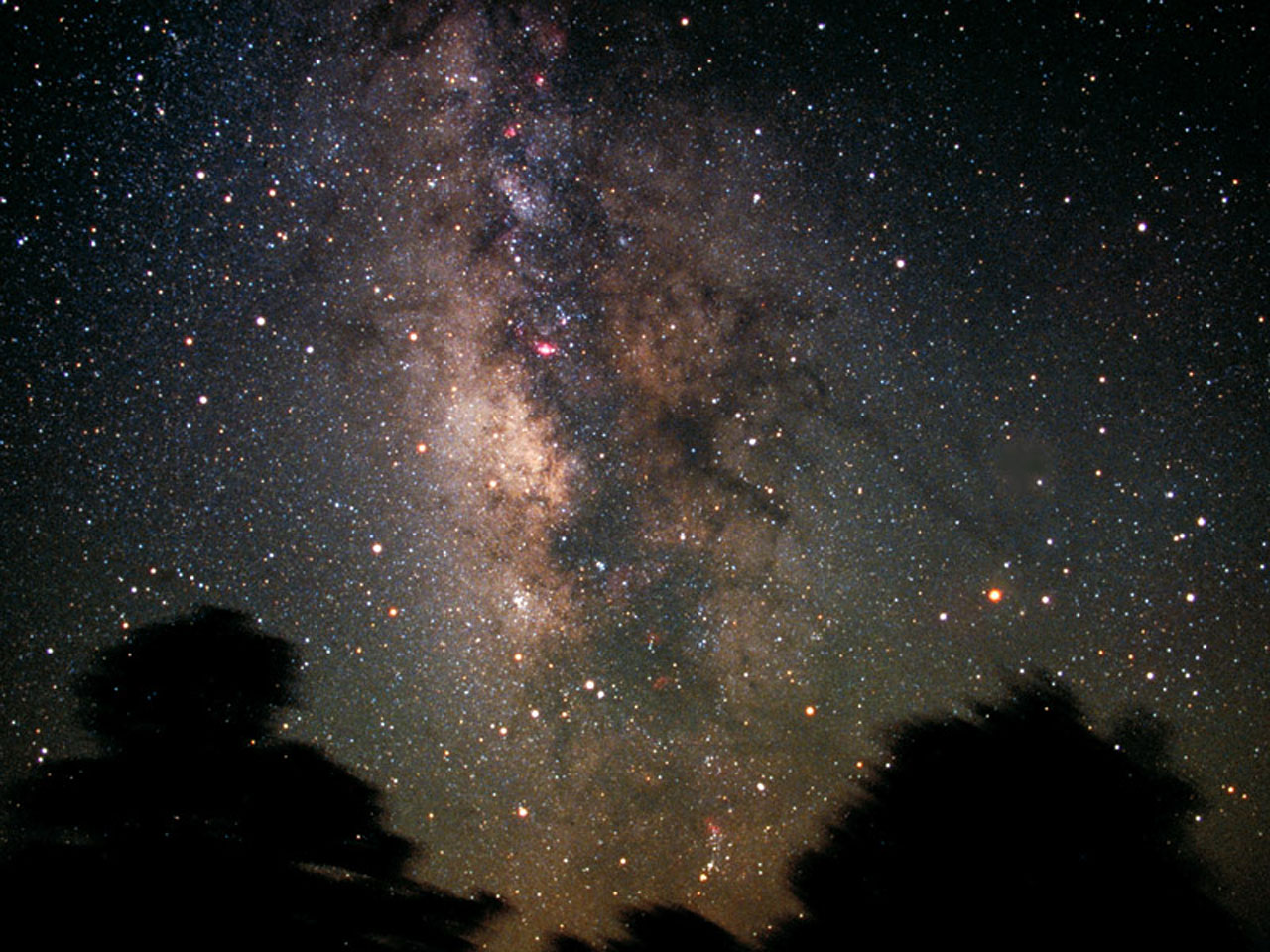 The Milky Way and Sagittarius Constellation