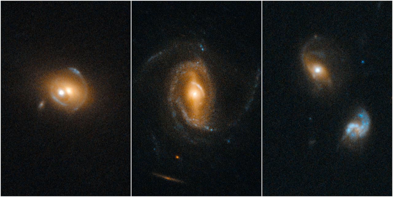 Quasars Acting as Gravitational Lenses