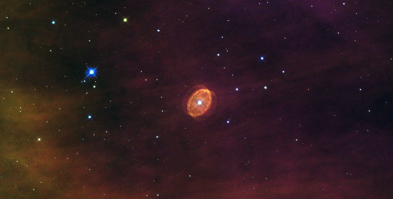 A star set to explode
