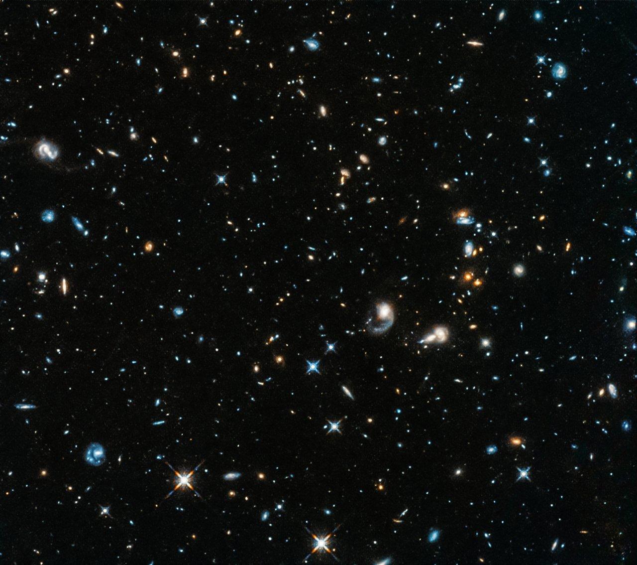 Hubble opens its eye again