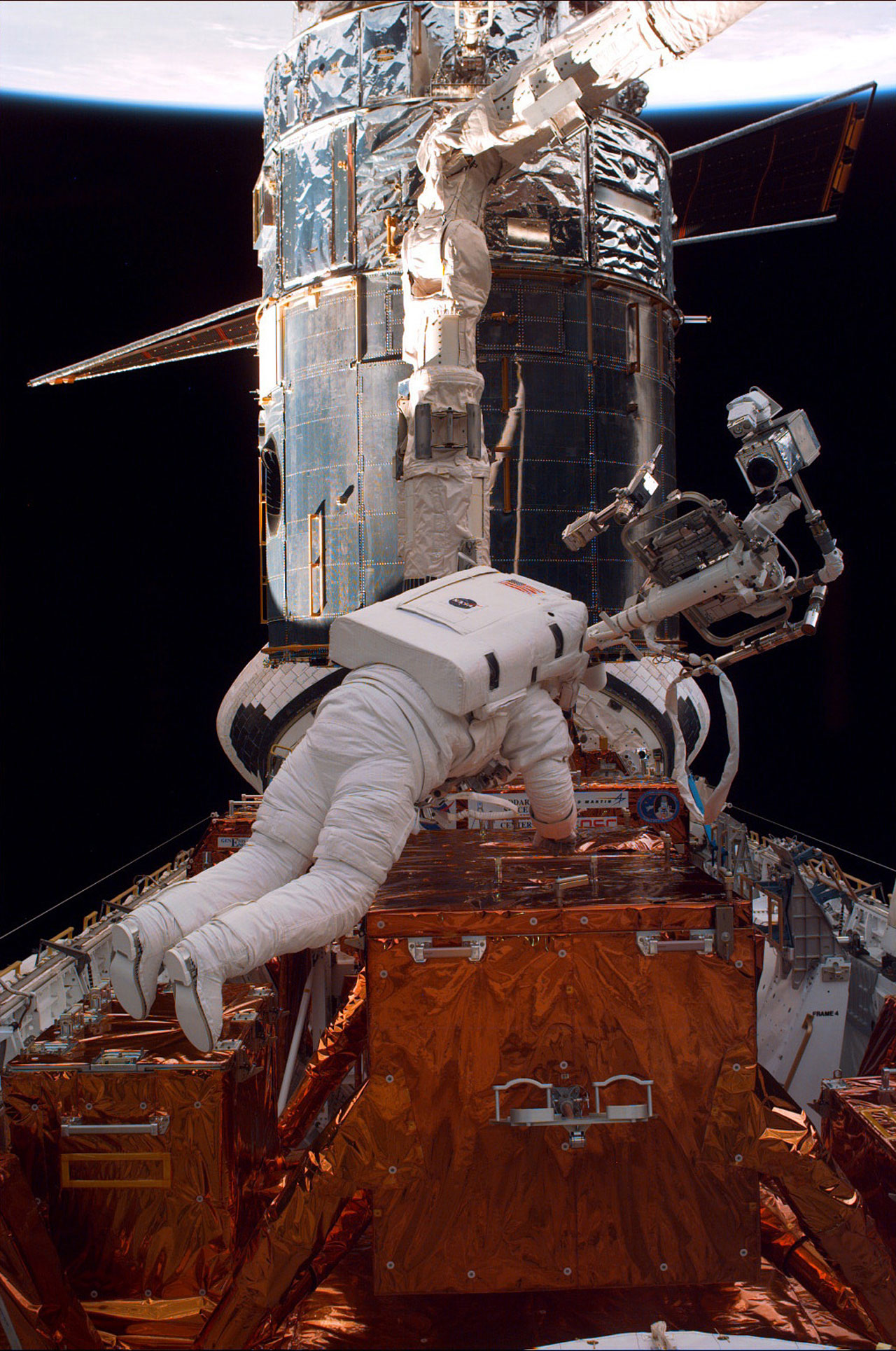 SM2: Astronaut Preparing for EVA