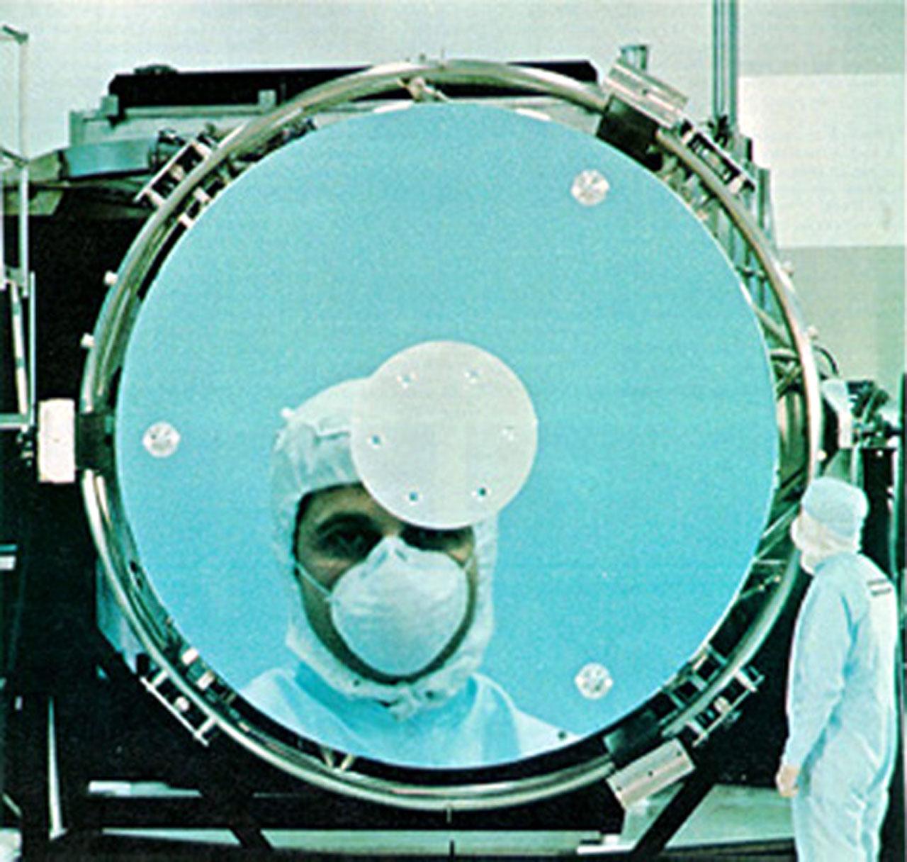 The Hubble Space Telescope mirror