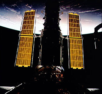 Hubble's New Solar Arrays