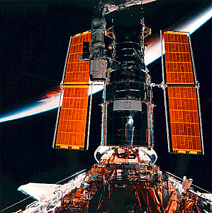 SM2: Hubble About to Perform a Backdrop