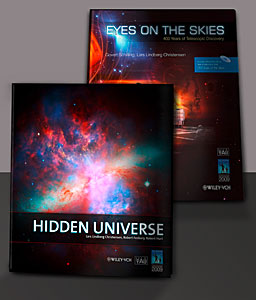 """Eyes on the Skies"" and ""Hidden Universe"" are Wiley-VCH bestsellers"