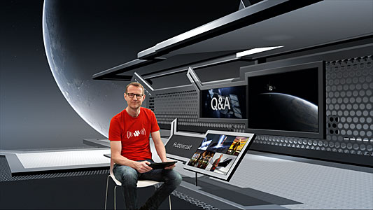 Screenshot from Hubblecast 78: Q&A with Dr J part 1