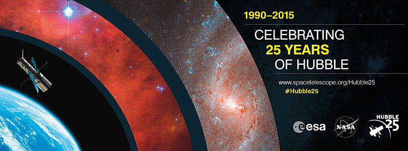 Celebrating 25 years of the NASA/ESA Hubble Space Telescop