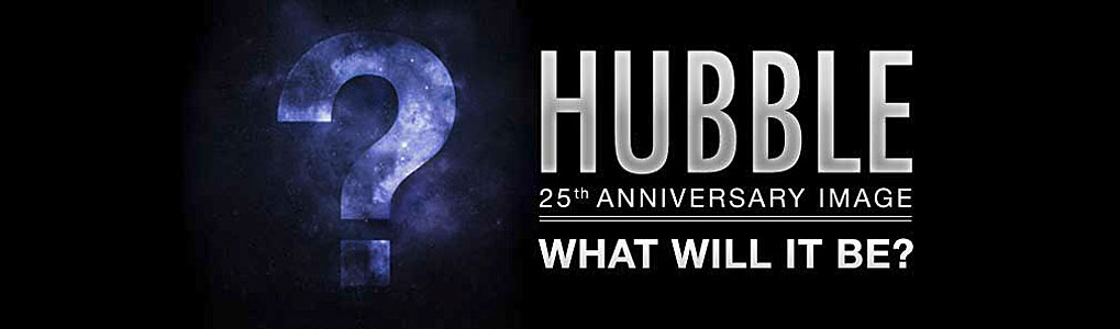 Unveiling the Hubble 25th anniversary image