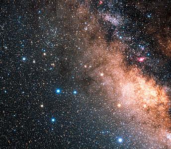 The constellation Sagittarius (ground-based image)