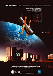 The cover of ESA/ESO Astronomy Exercise 1
