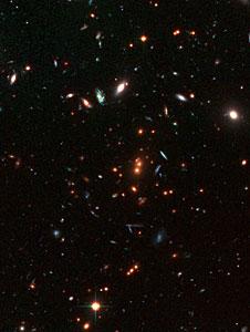 The cluster RDCS1252.9-2927 (detail)