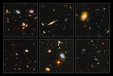 Hubble reveals galactic drama