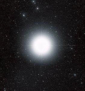 Sirius (ground-based image)
