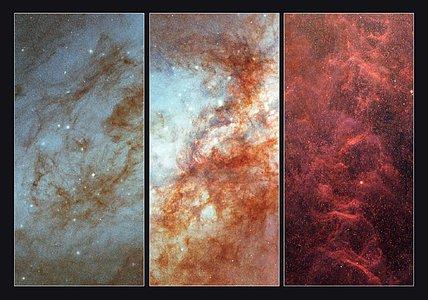 Details in Messier 82