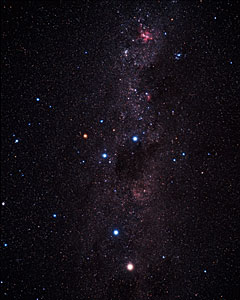 Wide-field image of the Southern Milky-Way (ground-based image)