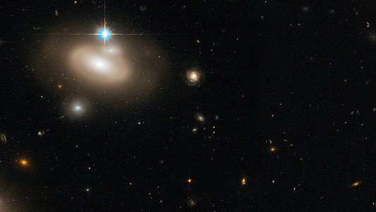Coma Galaxy Cluster (Detail 3)