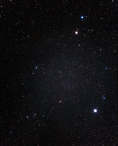 A wide-field view of the constellation of Cancer (ground-based image)