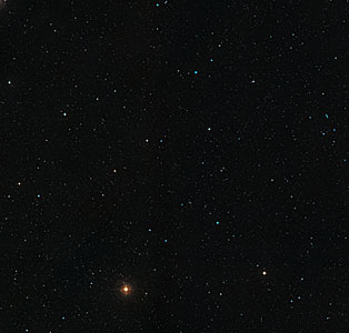 Wide-field view of Abell 2744 (ground-based image)
