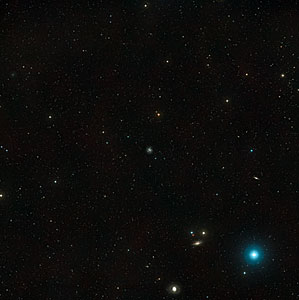 Wide-field view of NGC 1073 and its surroundings (ground-based image)