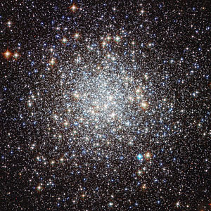 Hubble image of Messier 9