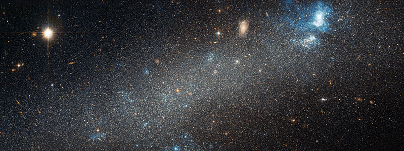 Hubble view of NGC 2366