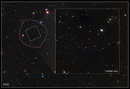 Veil lifted on 'ghost' galaxy