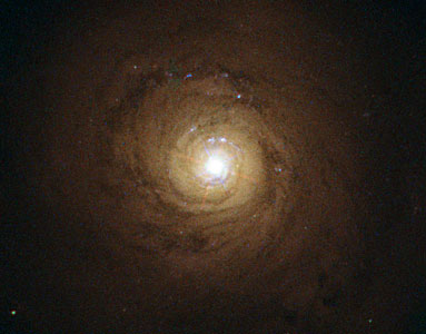 Supermassive black hole at the heart of NGC 5548