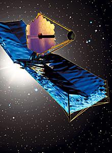 The James Webb Space Telescope (artist's impression)