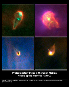 Protoplanetary Disks in the Orion Nebula
