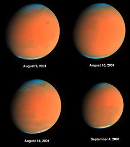 Four Views of the Global Dust Storm