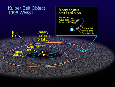 The Orbit of 1998 WW31 in the Kuiper Belt