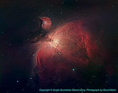 Orion Nebula, NGC 1976, M42 (ground-based image)