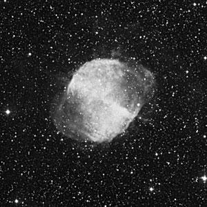 DSS Image of Dumbbell Nebula (ground-based image)