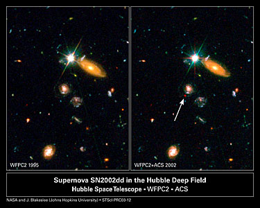 Far-Flung Supernova Sheds Light on Dark Universe