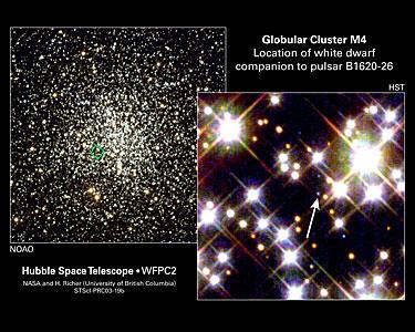 White Dwarf Yields Key to Planet's Mass