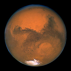 Hubble's Closest View of Mars